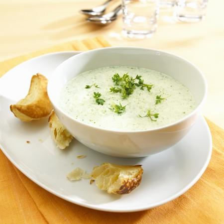cress: Cress soup
