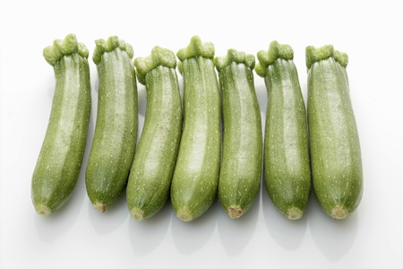 courgettes: Baby courgettes
