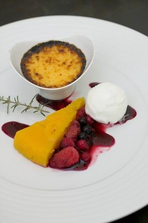 dessert plate: Piatto da dessert misto