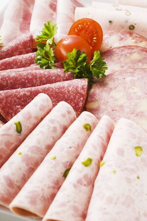 scalded sausage: Assorted cold cuts