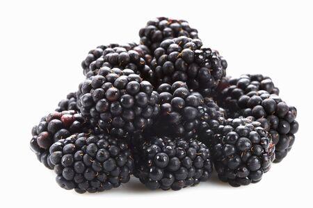 A heap of blackberries