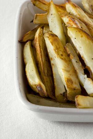 potato wedges: Baked potato wedges