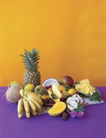 frutta tropicale: Frutta tropicale Still Life LANG_EVOIMAGES