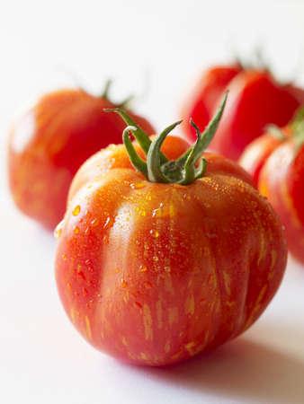 heirloom: Freshly Washed Heirloom Tomatoes LANG_EVOIMAGES