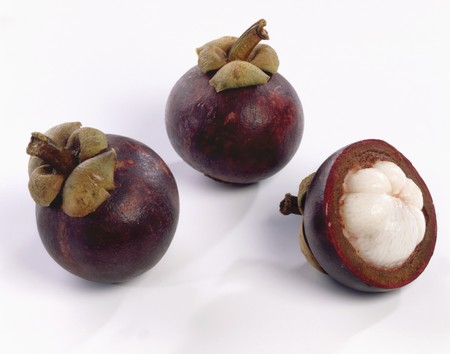 two and a half: Two whole and one half mangosteen