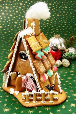 figurative: Gingerbread house
