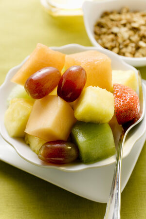 body consciousness: Fruit salad for a healthy breakfast