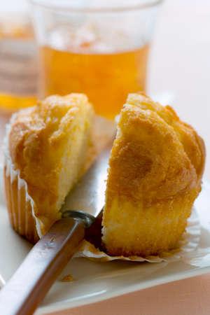 halved: Halved muffin
