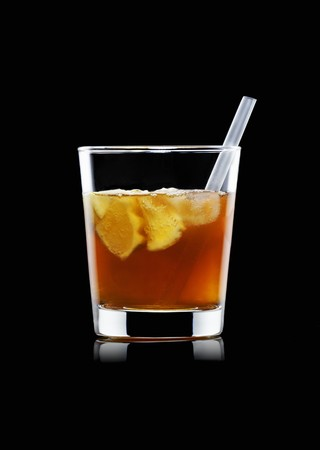bacardi: A Cuba Libre with a straw