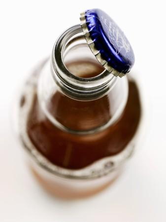 ale: An opened bottle of ale