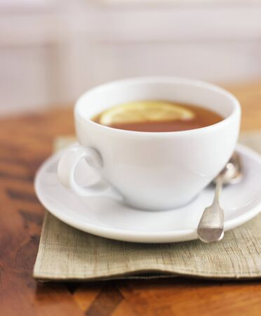 aaa: A cup of tea with lemon LANG_EVOIMAGES