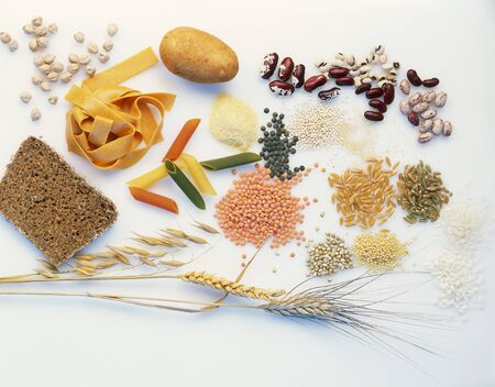 carbohydrates: Foods rich in carbohydrates