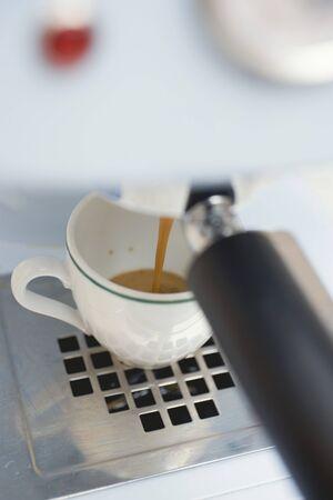 producing: Making espresso LANG_EVOIMAGES