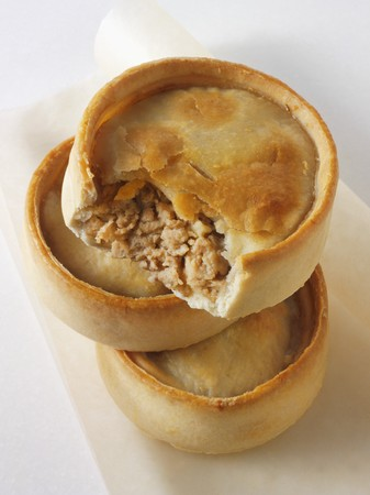 minced pie: Scotch pie (Minced lamb pie, Scotland)