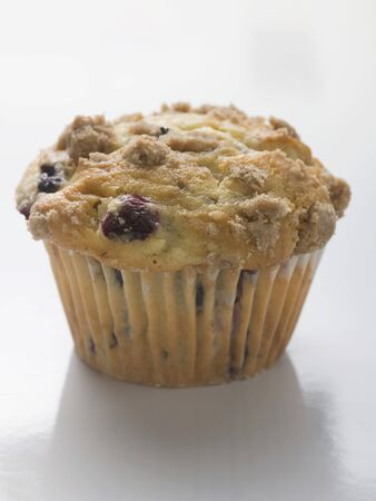 blueberry muffin: Blueberry muffin in paper case