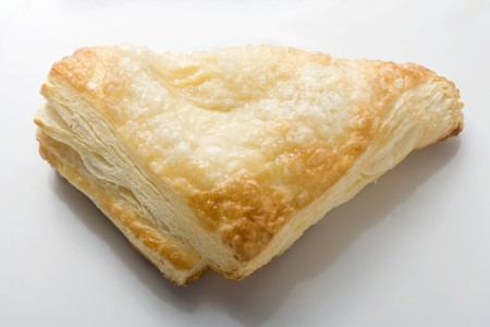 turnover: A puff pastry turnover