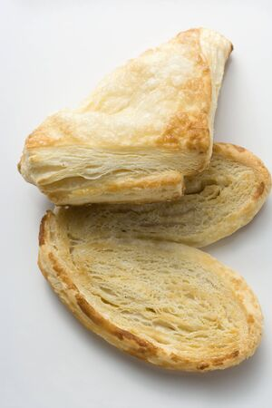turnover: Puff pastry turnover and palmier