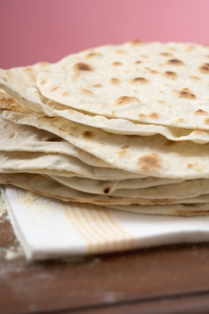 tortillas: Tortillas, stacked LANG_EVOIMAGES