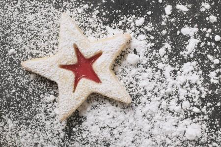 sucre glace: Jam biscuit de sucre glace