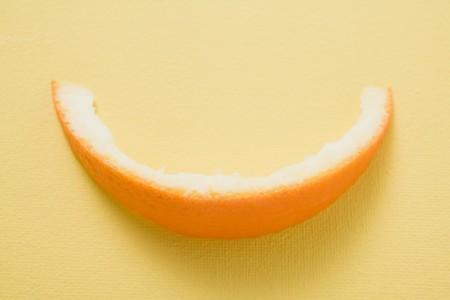 leavings: Orange peel