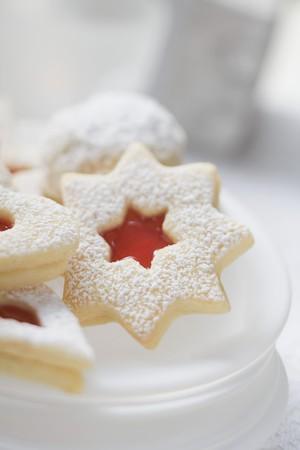 jam biscuits: Biscotti di marmellata per Natale