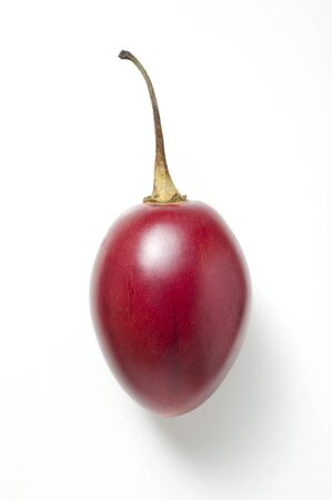 tomate de arbol: Un tomate de árbol
