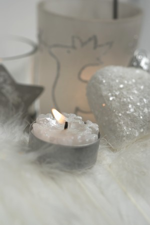 tealight: Christmas decorations with tealight