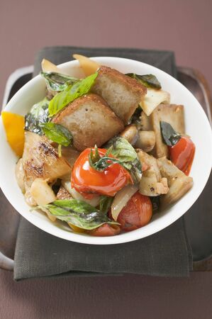 beancurd: Fried tofu with vegetables LANG_EVOIMAGES