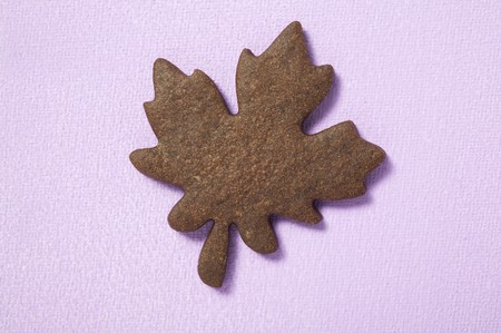 solo form: Biscuit in the shape of a maple leaf LANG_EVOIMAGES