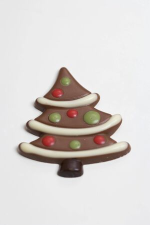 chocolate christmas: Un �rbol de Navidad de chocolate