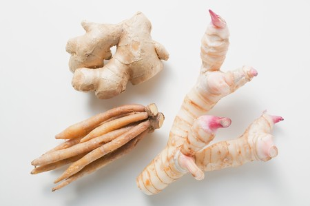 galangal: Ginger, galangal and fingerroot