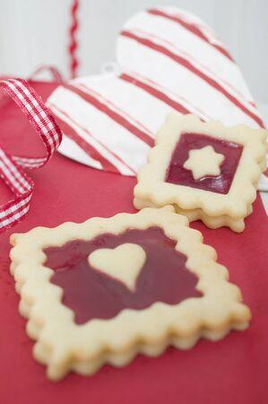 jam biscuits: Marmellata di biscotti e decorazioni natalizie