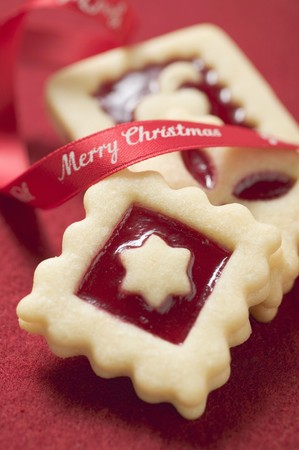 jam biscuits: Tre biscotti marmellata quadrati per Natale LANG_EVOIMAGES