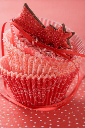 being the case: Christmas sweets in paper cases LANG_EVOIMAGES