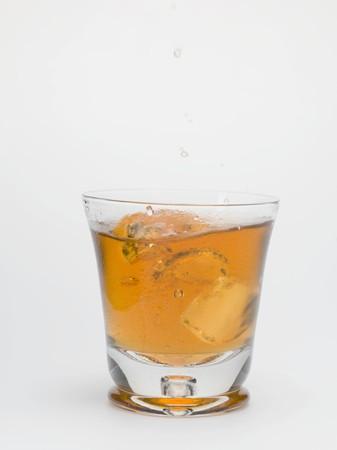 iced tea: Iced tea in a glass