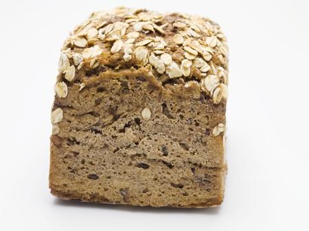 avena en hojuelas: Pan integral con copos de avena