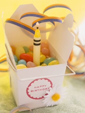 childs birthday party: Jelly beans for a birthday LANG_EVOIMAGES
