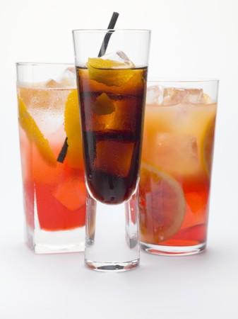 bitter orange: Bitter schnapps with ice cubes, Campari Soda & Campari Orange LANG_EVOIMAGES