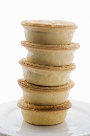 Meat pies, stacked (Australia) LANG_EVOIMAGES
