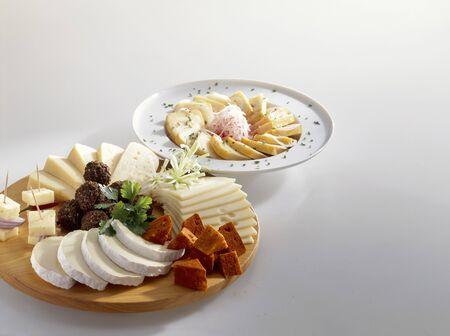 tabla de queso: Tabla de quesos y queso Limburger marinado