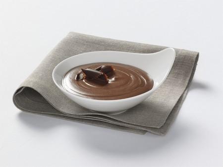 blancmange: Chocolate blancmange