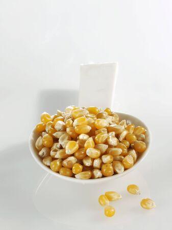 zea mays: A spoonful of corn kernels LANG_EVOIMAGES