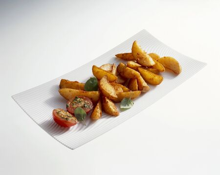 wedges: Potato wedges