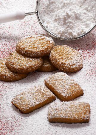 sucre glace: Biscuits de sucre glace LANG_EVOIMAGES