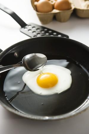 skillet: Fried Egg in Skillet