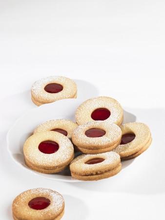 jam biscuits: Biscotti di marmellata