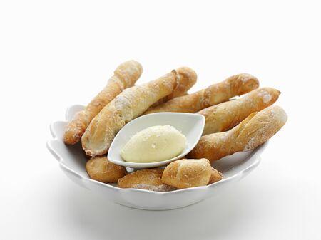 gressins: Gressins au beurre