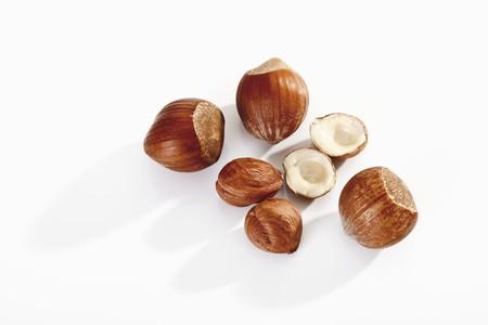 corylus: Shelled and unshelled hazelnuts