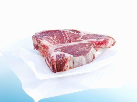porterhouse: Porterhouse steak on paper