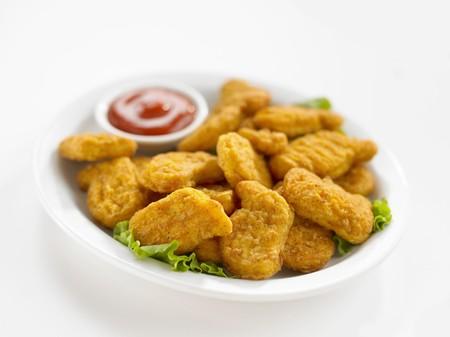 nuggets pollo: Nuggets de pollo